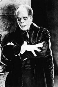 Phantom of the Opera film still with Lon Chaney, Sr.