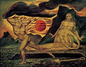 Illustration of Cain and Abel by William Blake
